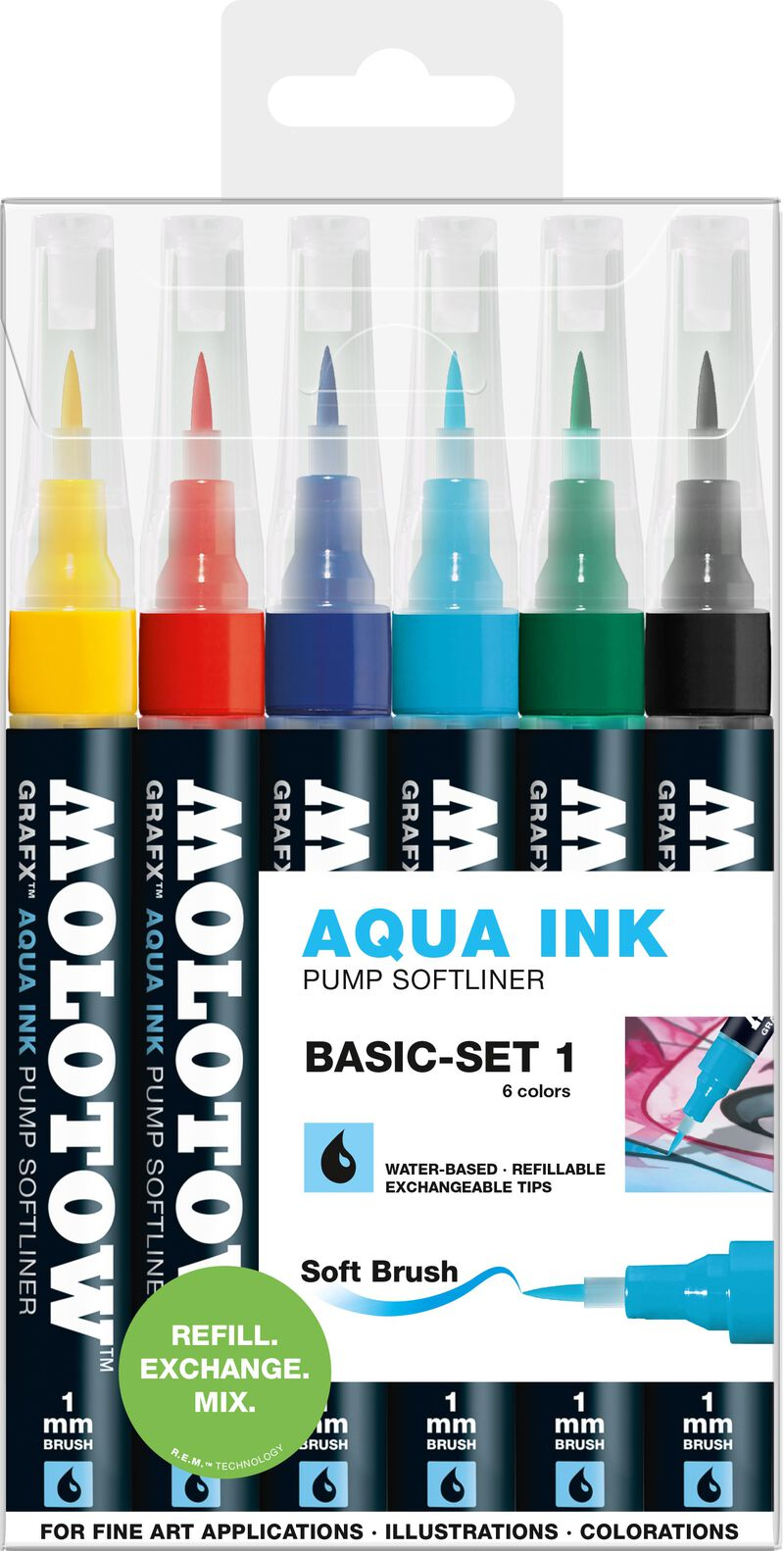 GRAFX Aqua Ink 6x