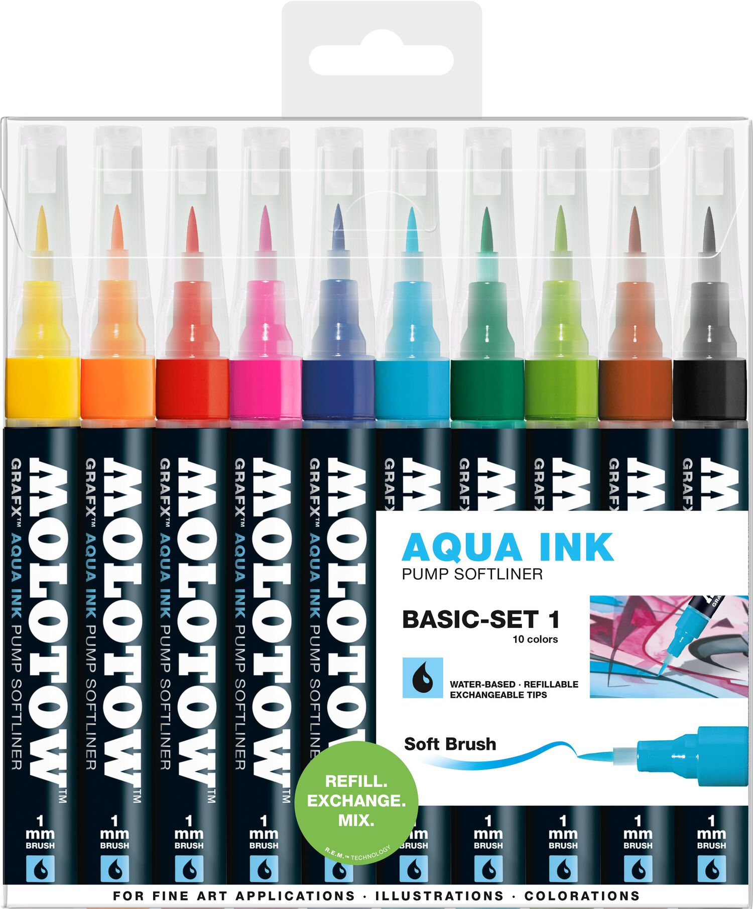 GRAFX Aqua Ink 10x