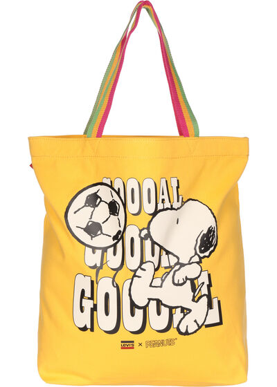 Snoopy Sport Goal Tote