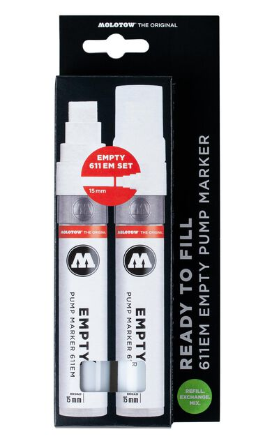 611 Empty Marker 2er Set