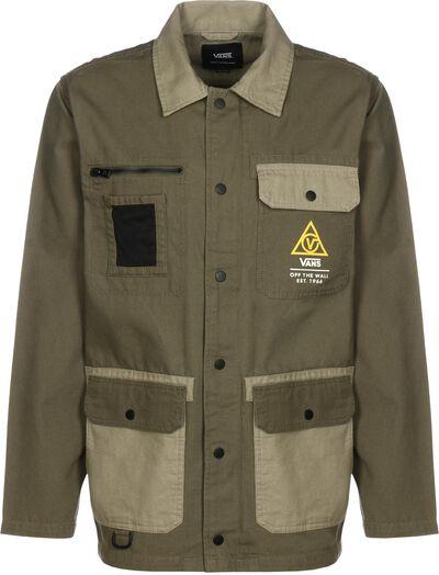Drill Chore Coat Military