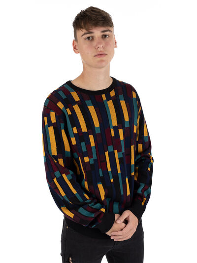 Patcheo Knit