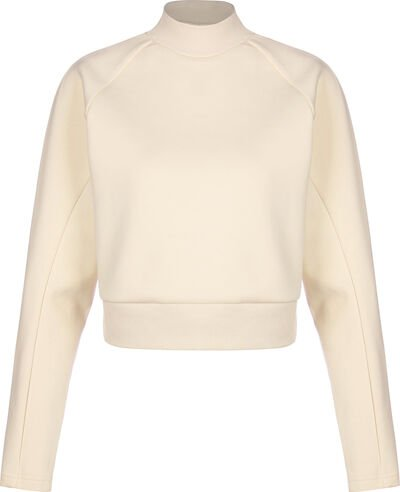 Interlock Short Turtleneck Crew