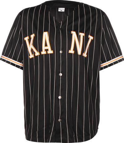 College Pinstripe Baseball Shirt