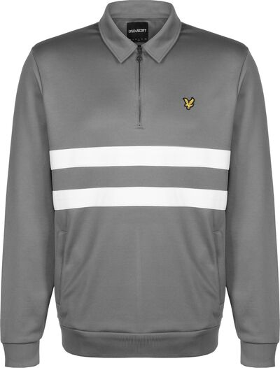 Wide Stripe 1/4 Zip