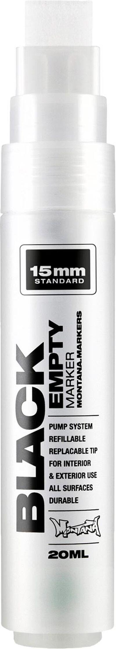 Black 15 mm Standard