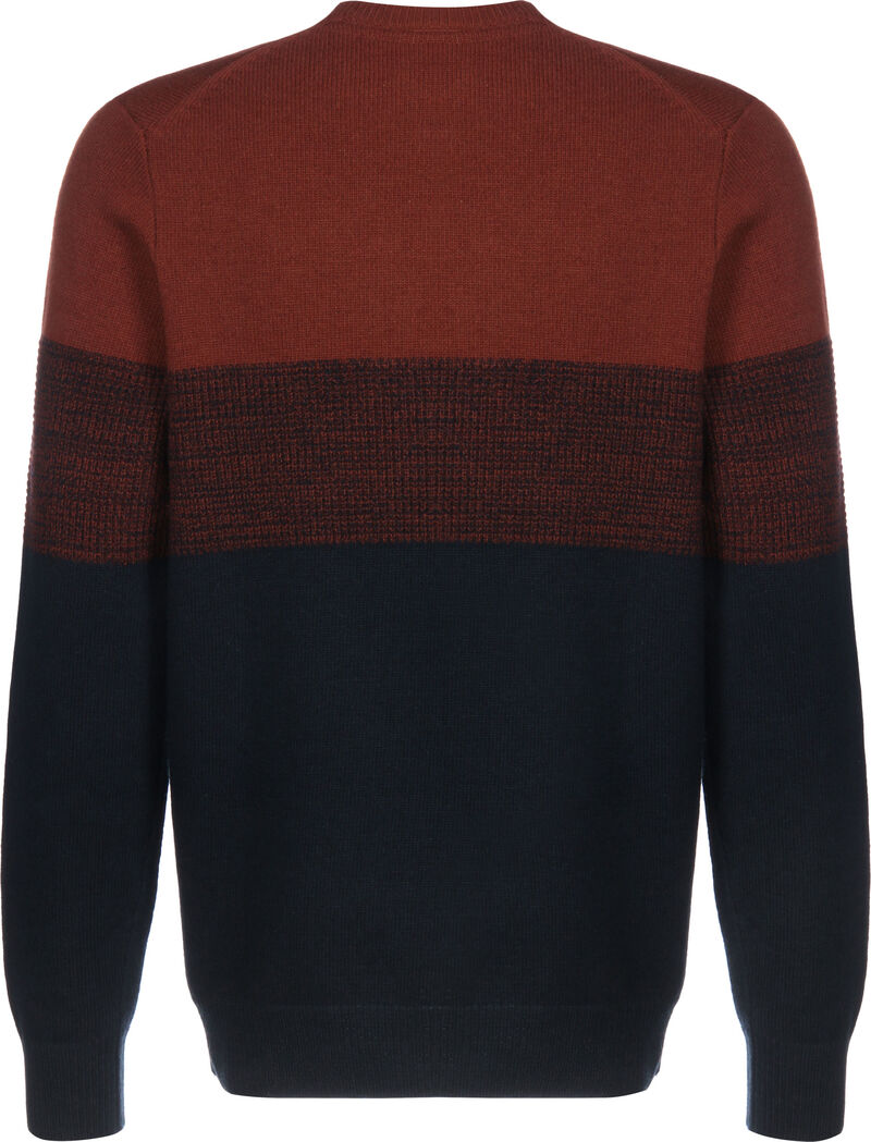 Chest Panel Knitted Jumper