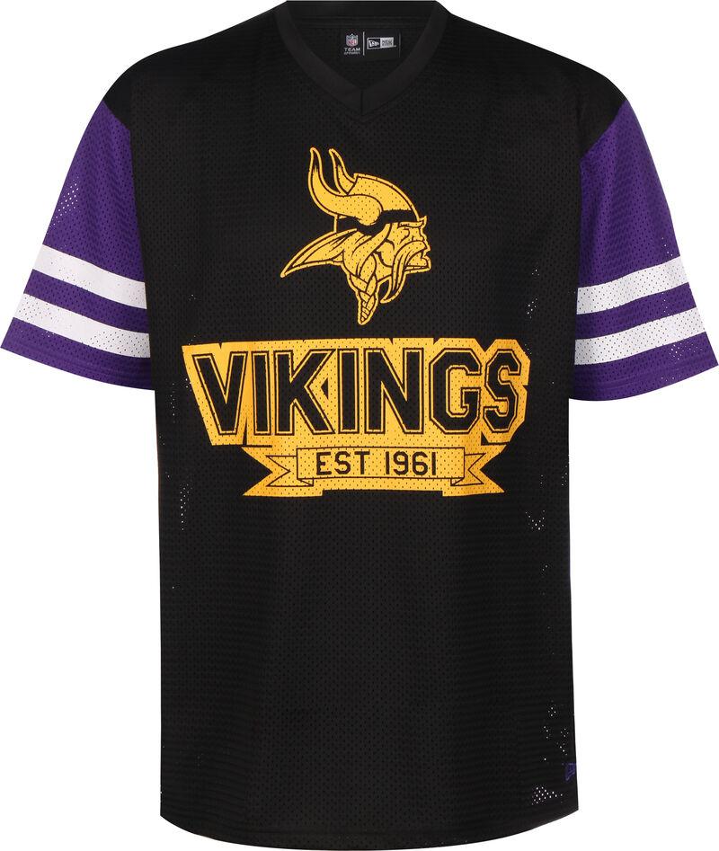 NFL Contrast Sleeve Oversized Minnesota Vikings