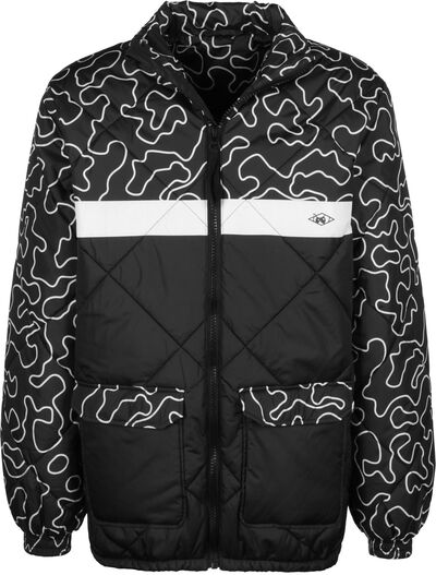 DMWU Puffer Jacket Zebra/Camo