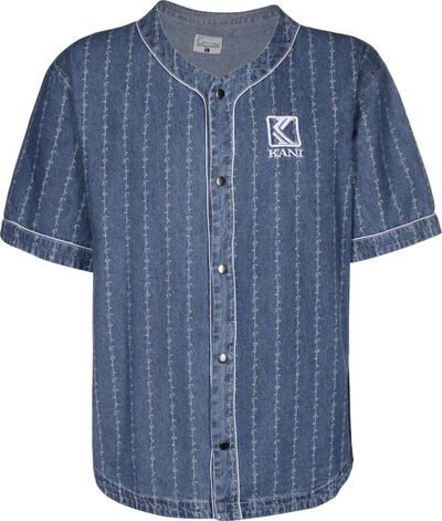 OG Denim Baseball Jersey