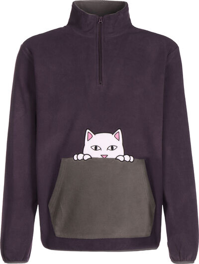 Peeking Nerm Half-Zip