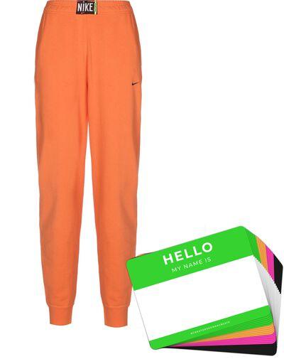 Nike Wash Pants + HELLO Neon-Stickerpack   Orange Pack