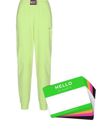 Nike Wash Pants + HELLO Neon-Stickerpack   Green Pack