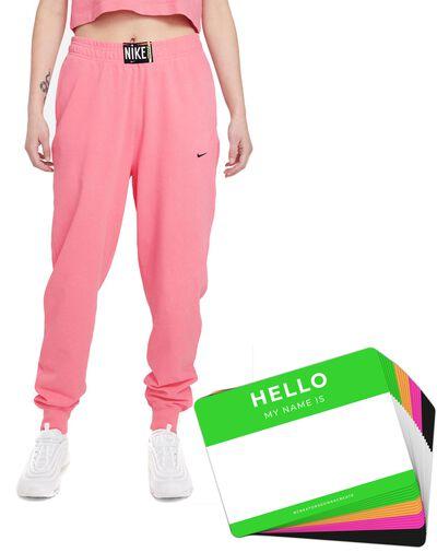 Nike Wash Pants + HELLO Neon-Stickerpack   Pink Pack