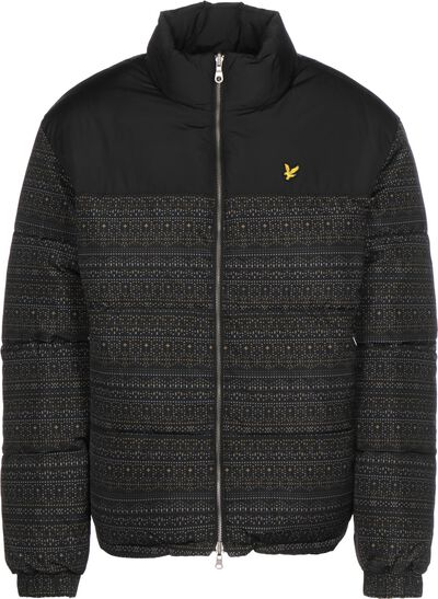 Reversible Fair Isle Puffer