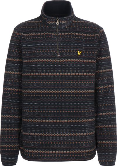 Fairisle Fleece Half Zip