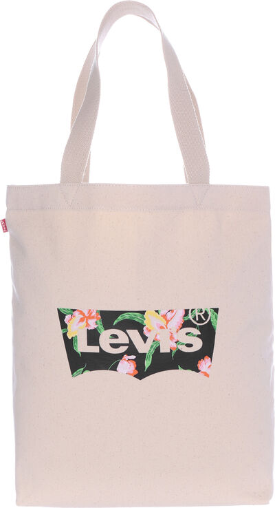Floral Batwing Tote W