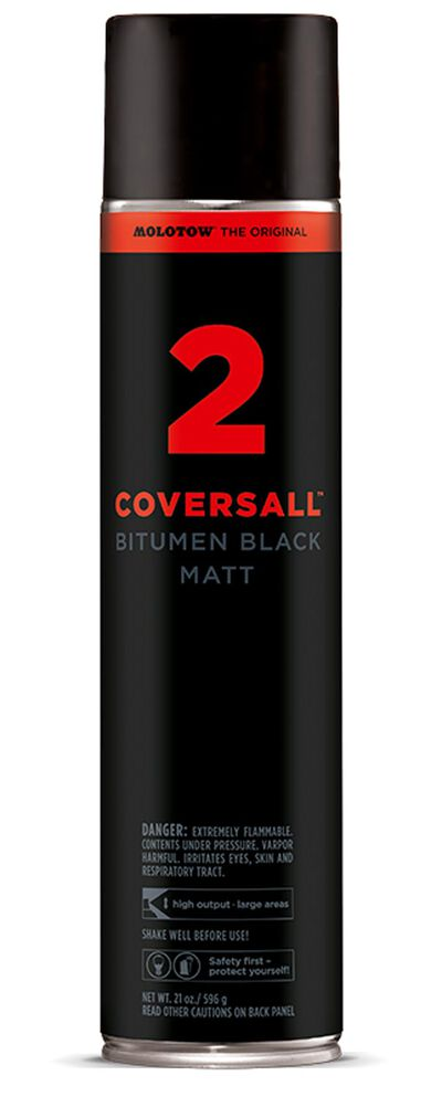 Covers All2 600ml Teerschwarz