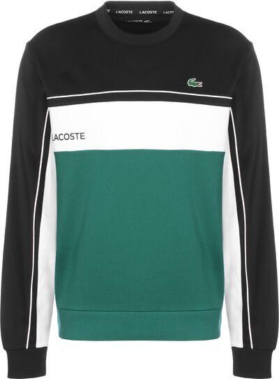 black/bottle green-white-