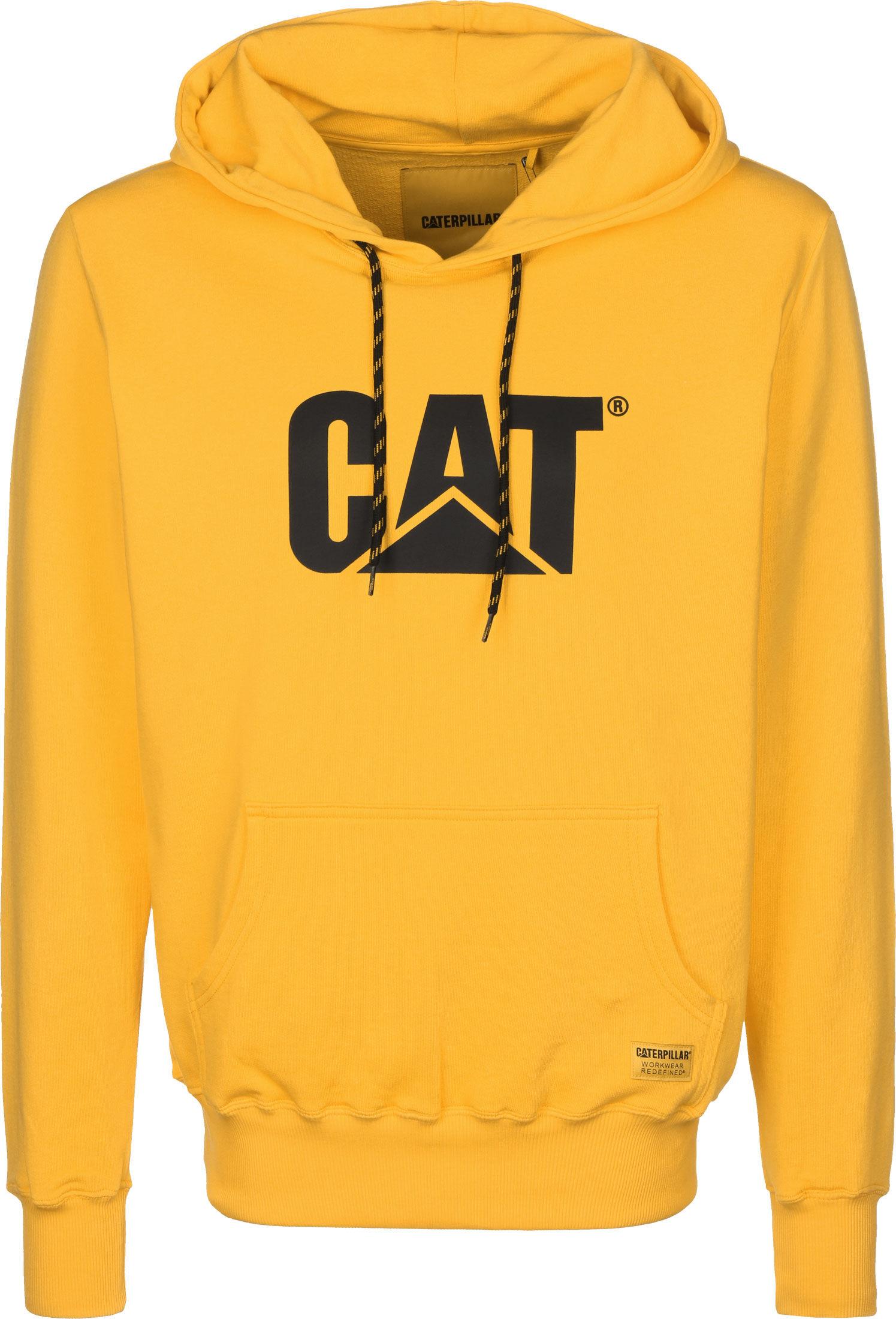 Caterpillar Cat Smal Logo Hoodies bij Stylefile