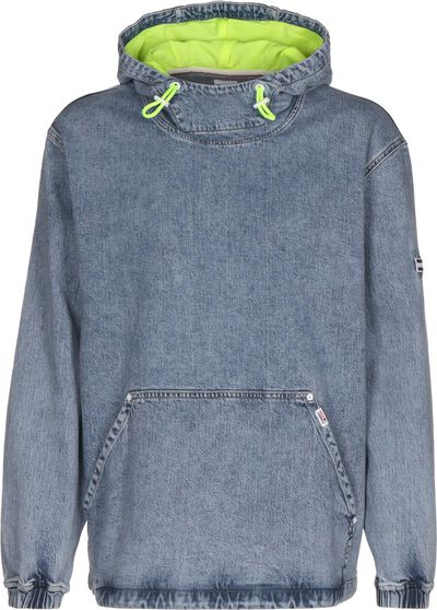 Denim Novelty Pop Over Slbc