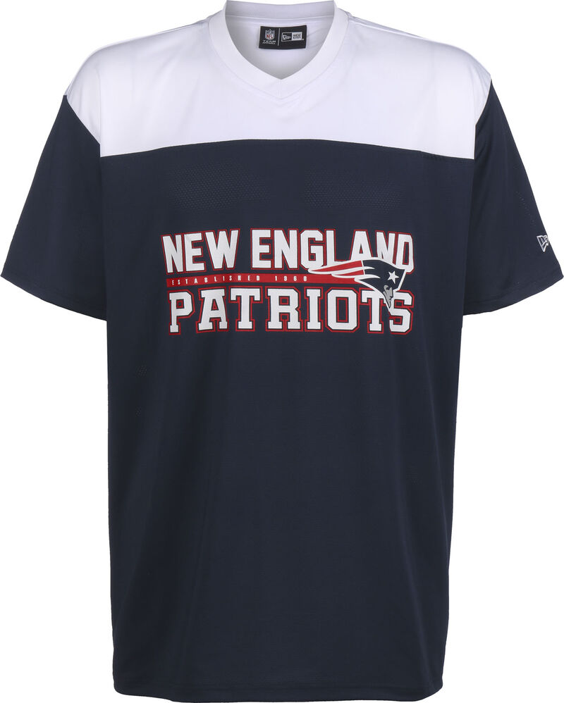 NFL Stacked Wordmark OS New England Patriots