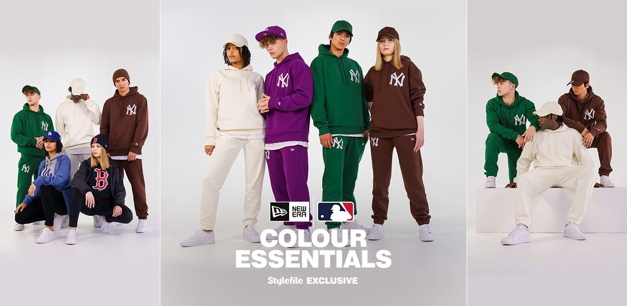 Models wearing Stylefile exclusive New Era Streetwear